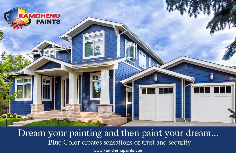 Exterior Paint Color Kamdhenu Paints
