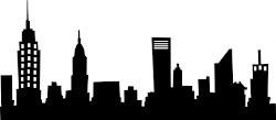 skyline silhouette simple drawing york kamer marius result