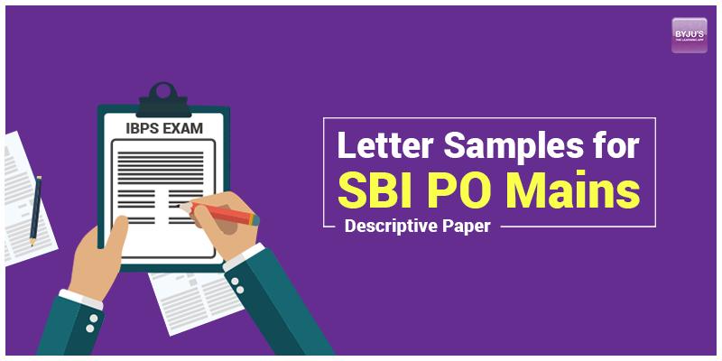 Letter samples for sbi po mains descriptive paper govt exam web letter samples for sbi po mains descriptive paper spiritdancerdesigns Choice Image