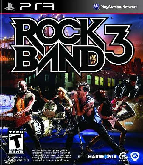 Rock Band 3 - Download game PS3 PS4 PS2 RPCS3 PC free