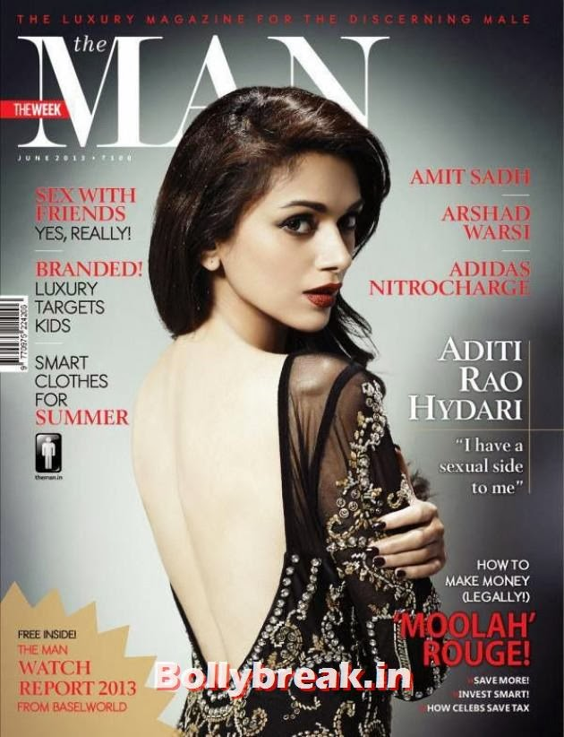 , Aditi Rao Hydari The Man Magazine Scans