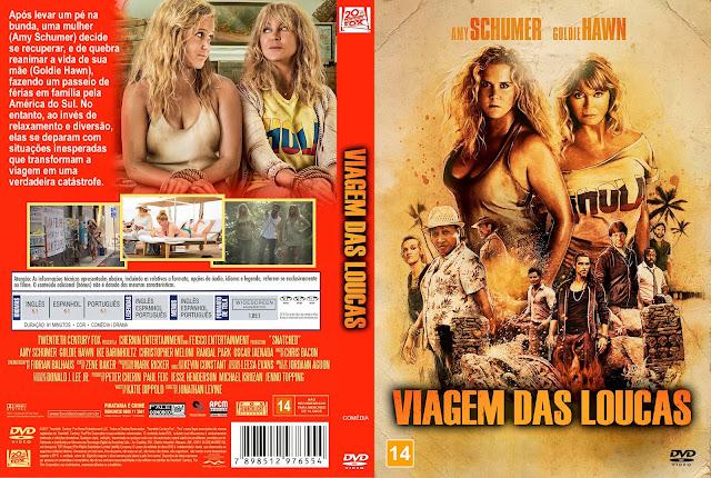 Capa DVD Viagem das Loucas [Exclusiva]