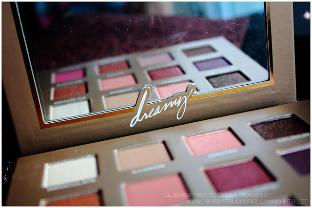 dreamy eyeshadow palette nabla cosmetics ombretti packaging