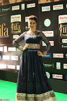 Raai Laxmi in Beautiful Backless Designer Anarkali Gown at IIFA Utsavam Awards 2017  Day 2  Exclusive 59.JPG