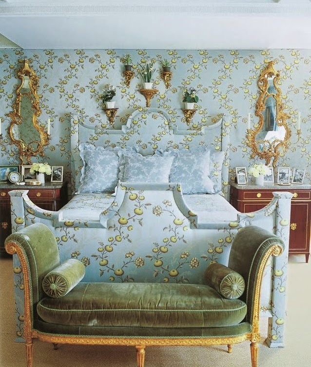 Robin Egg Blue Bedroom Ideas: The Relished Roost: Perfect Marie Antoinette Blue