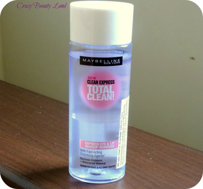 Maybelline Total Clean Express Eye and Lip Makeup Remover