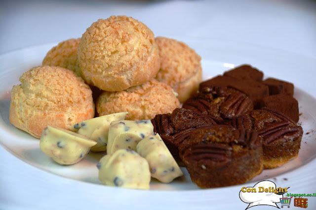 פלטת קינוחים נחמן Dessert plate