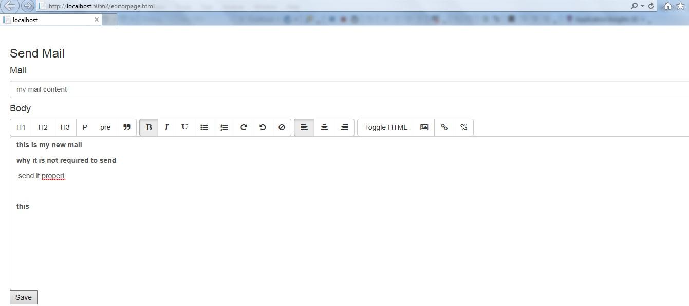 Angularjs rich text editor