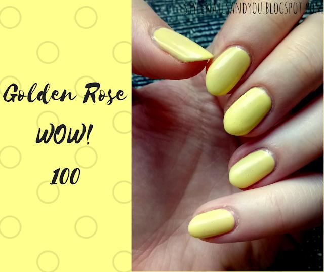 Golden Rose WOW! 100