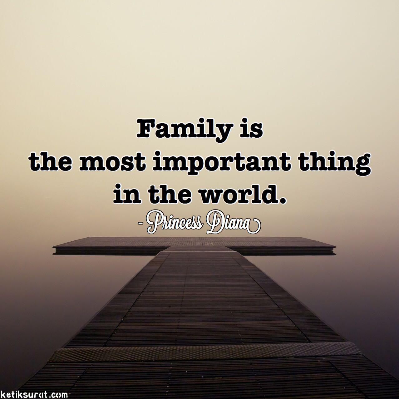 Kata Mutiara Bahasa Inggris Tentang Keluarga Quotemutiara