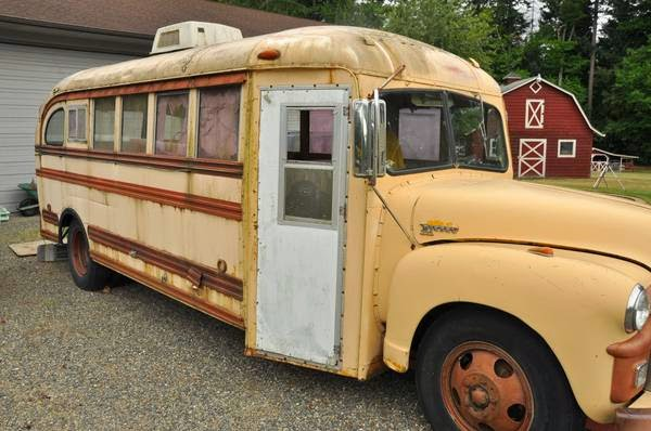 Old School Bus For Sale Craigslist