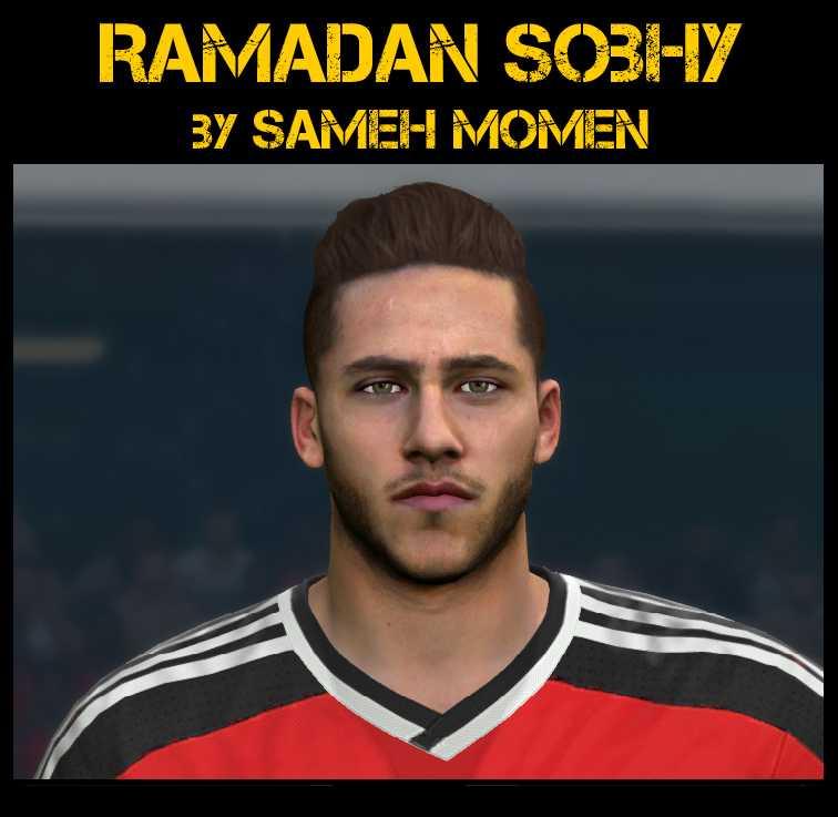 Ultigamerz Pes 2010 Pes 2011 Face: Ultigamerz: PES 2016 Ramadan Soby (Al-Aly SC/Egypt) Face
