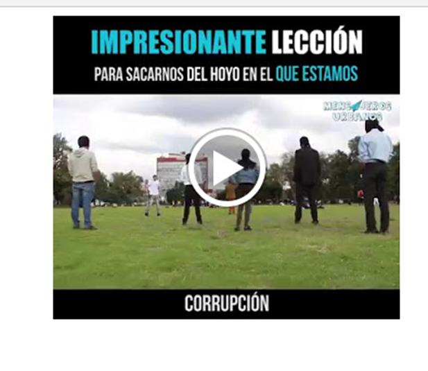 imagen Experimento social  Corrupción