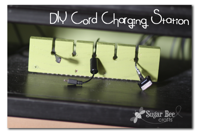 I Am In Love With This Simple Project It S So Useful That Why Called A Instead Of Craft The Diy Cord Charging Station Organizer