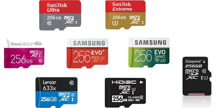 microSDカード 256GB の転送速度&スペックまとめ