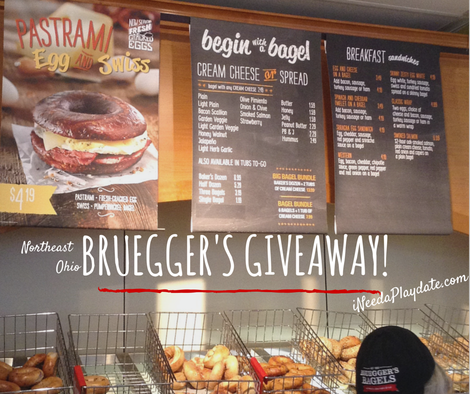 #BagelLove for Lunch at @Brueggers in Northeast Ohio {Enter to Win Lunch for 4!}