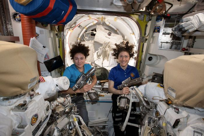 Two Women NASA Astronauts Made History With The First-Ever All-Female Space Walk