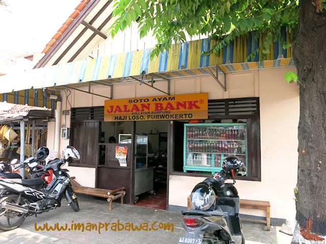 Soto Jalan Bank Purwokerto Dilihat Dari Luar