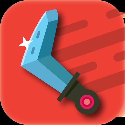 تحميل لعبه Boomerang Evolution : Boomerangs Merge Clicker RPG مهكره وجاهزه اصدار v0.30