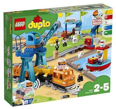 TOYS -  LEGO Duplo 10875 Tren de mercancías  COMPRAR ESTE JUGUETE