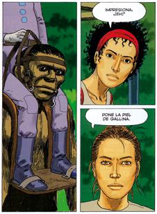 Supervivientes - anomalías cuánticas, comic de Leo ciencia ficción, edita ECC