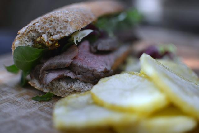 Receta fácil de bocata de Roast Beef 06