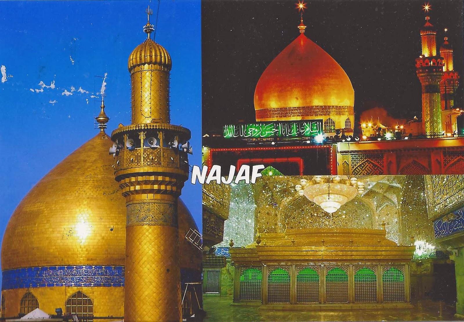 Maula Ali Shrine Wallpaper: A Journey Of Postcards: Imam Ali Mosque