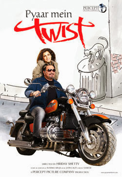 Poster Of Bollywood Movie Pyaar Mein Twist (2005) 300MB Compressed Small Size Pc Movie Free Download worldfree4u.com