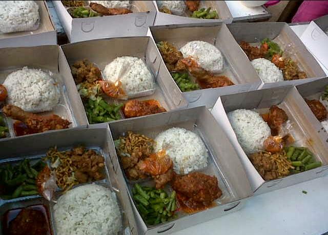 Catering Nasi Box Ibu Fitri Harga Rp 15000