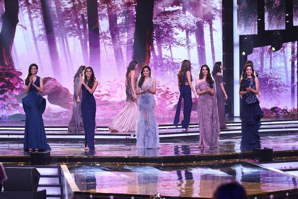 femina miss india 2018 top 5 Anukreethy Vas Meenakshi Chaudhary Shreya Rao Kamavarapu Gayatri Bhardwaj Stefy Patel