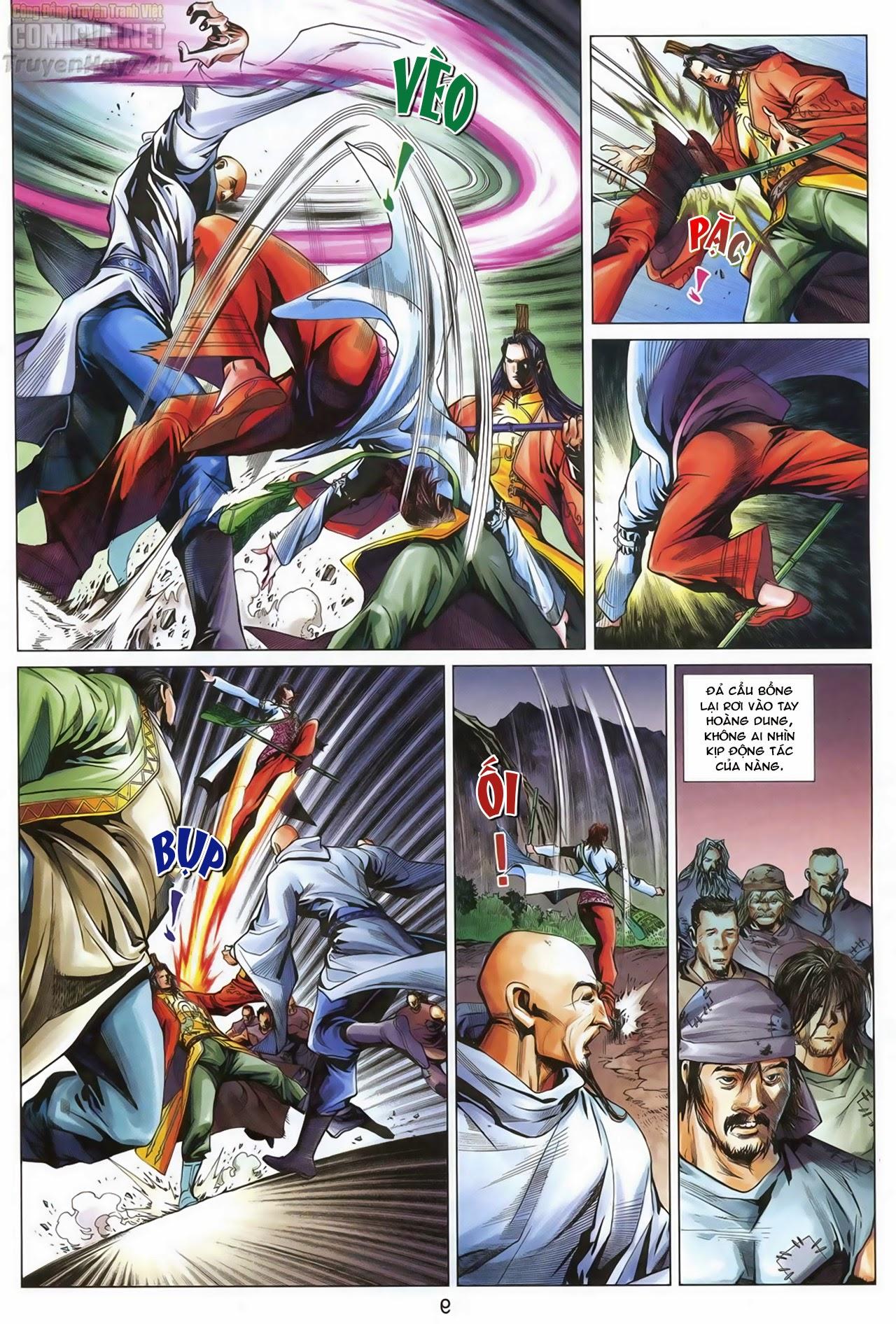 Anh Hùng Xạ Điêu anh hùng xạ đêu chap 68: di thư chân kinh - lừa tình trang 10