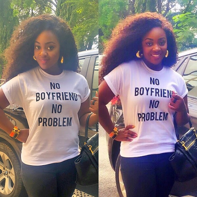 Jackie Appiah Says 'No Boyfriend…No Problem'