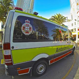 Ambulance 180-degree Photo