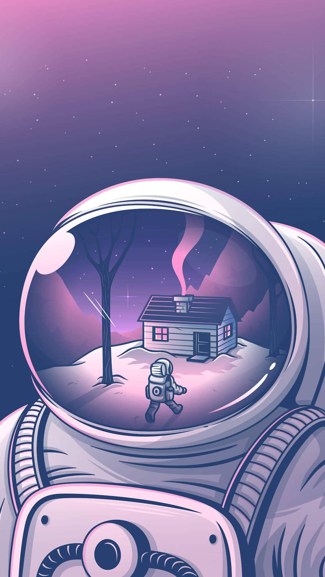 Wallpaper Celular Tumblr Astronauta
