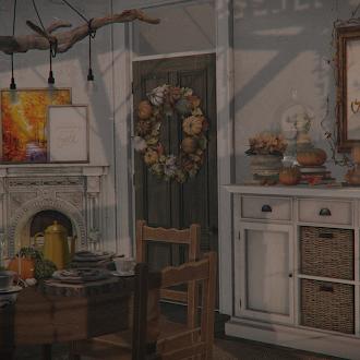 Warm & cozy Fall dinner