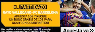 betfair promocion Rayo vs Barcelona 3 noviembre