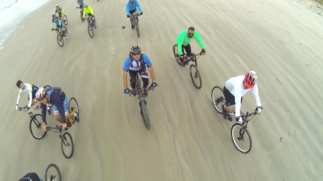 Ilha  Comprida oferece trilhas para mountain bike e cicloturismo