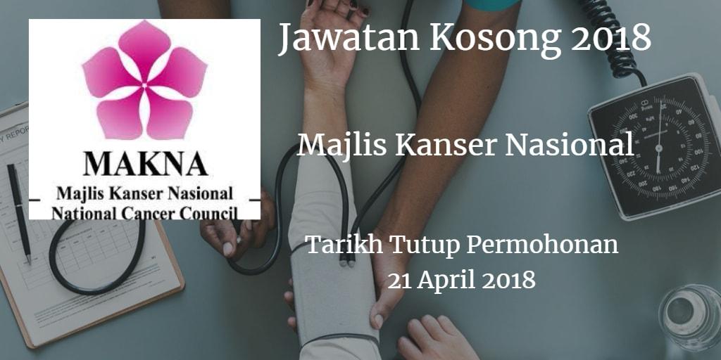 Jawatan Kosong MAKNA 21 April 2018