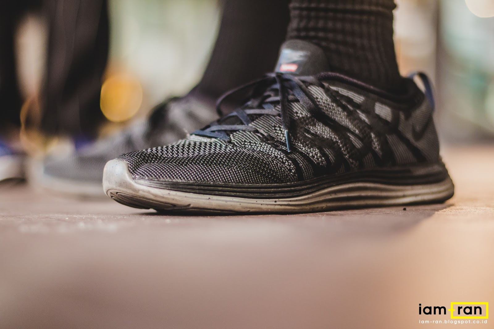 305b4d34db0a0 Dimas on feet. Sneakers   Nike Flyknit Lunar 1 x Supreme.  iam.ran06