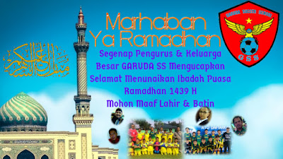 Garuda SS, marhaban ya ramadhan