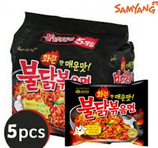 Harga Mie Samyang Super Pedas Korea