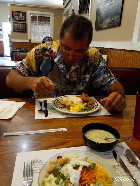A Little Bit of British: Dienners Restaurant Dining Amish