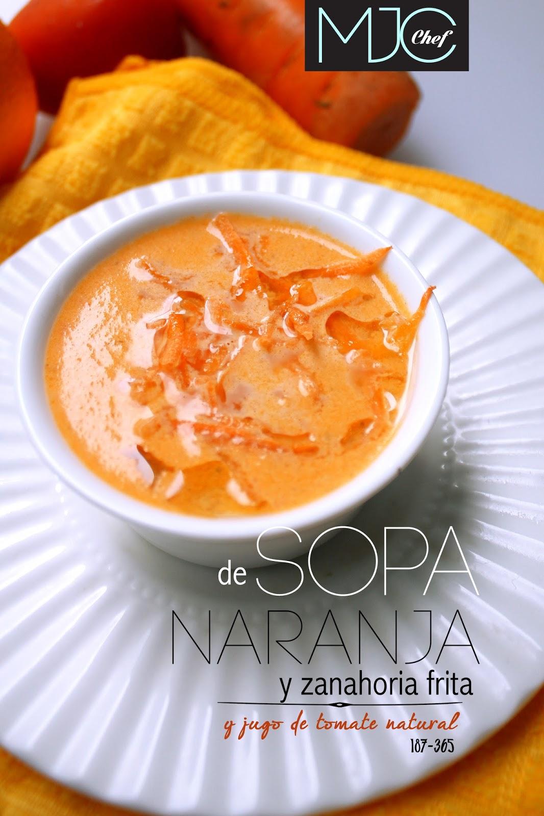 187 Sopa De Naranja Y Zanahoria Frita Con Tomate 365 Sopas Con Color Croquetas de zanahoria, un plato saludable muy fácil de elaborar, que incluiremos en el especial de recetas de zanahoria. 187 sopa de naranja y zanahoria frita con tomate 365 sopas con color