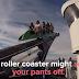 Αυτό το roller coaster αποτελεί εφιάλτη για υψοφοβικούς και όχι μόνο!! (Βίντεο)