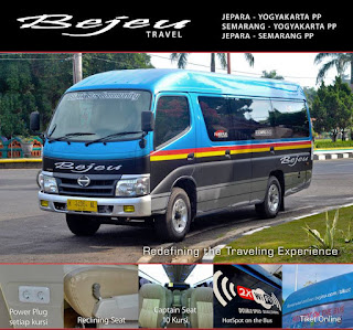 harga tiket bus bejeu travel