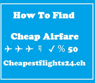 How Find Low Airfare Tickets