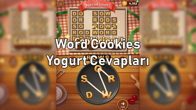 Word Cookies Yogurt Cevaplari