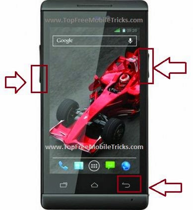 How to Factory Hard Reset Xolo Mobile Phone image phone