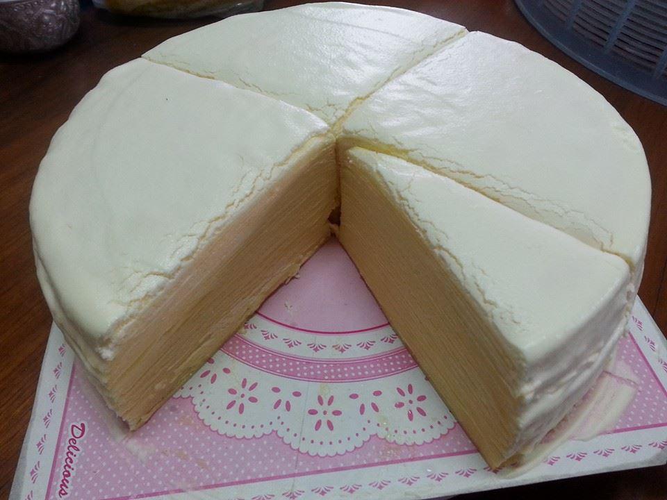 วิธีทำเครปเค้ก