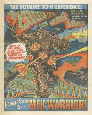2000 AD, Prog 91, Ro-Busters